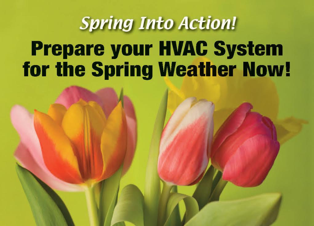 3 REASONS TO START YOUR SPRING CLEANING WITH HVAC MAINTENANCE